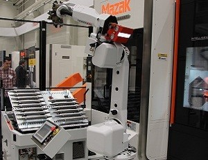 RoboJob is the guest of French Mazak dealer Degomme Boccard