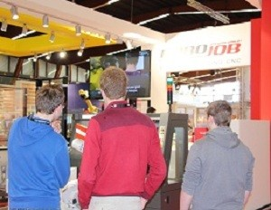 RoboJob welcomes satisfied customers at Indumation
