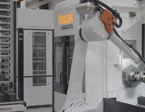 RoboJob zeigt Tower Advanced bei Open House Mazak